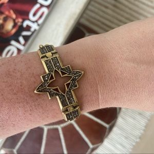 Lucky brand star chain bracelet